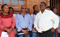 Mayor motivates Botshabelo learners